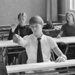 Kilde. National Archief NL. Flickr Commons.  leerlingen school Leidseplein 1978