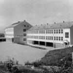 Nordland skole, Kristiansund. Fotograf Williams. Kjelde Flickr Commons. Riksarkivet