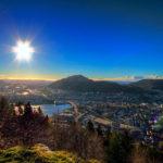 Bergen from Fløien.Steven Leonardus