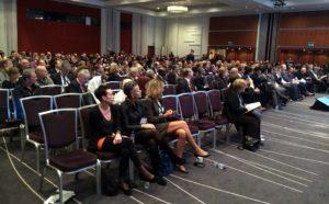 Fra åpningen av ICA-konferansen