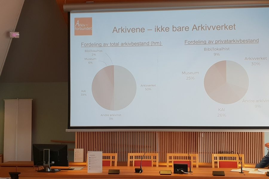 Arkivforbundet har svart på høring til representantforslaget om omorganisering av Arkivverket