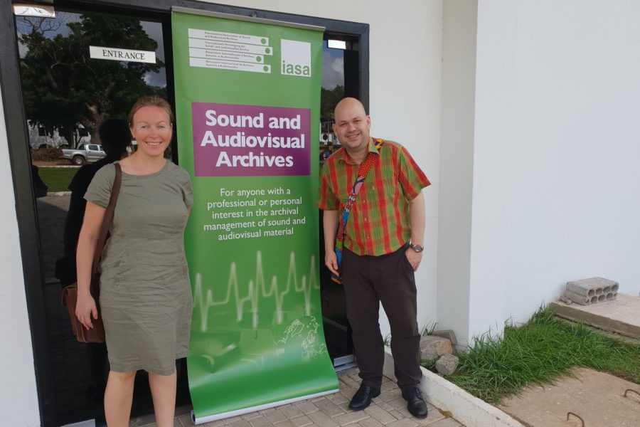 Gratulerer med verdensdagen for lyd- og filmarkiv
